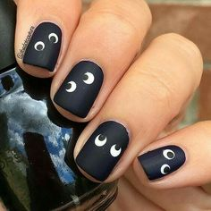 50+ Perfect Nail Art Stylish Designs for the Halloween Event