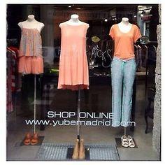 Holiday picks!  #yubegirls #yubemadrid #yubewindows #madrid #tropical #instafashion #salesas #pineapple #pastels #MM6 #dressgallery#kalisté