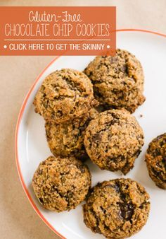 These Gluten Free Chocolate Chip Cookies are sure to be a crowd pleaser for parties or Valentines!