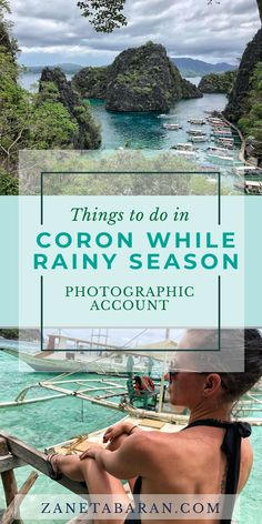 Things To Do in Coron, Philippines During Rainy Season – Photographic Account – Zaneta Baran Travel Goals, Travel Advice, Stuff To Do, Things To Do, Famous Pictures, Bungee Jumping, Coron, Rainy Season