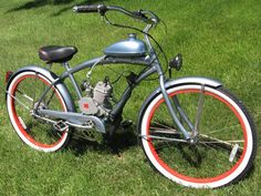 Motored Bicycle - easy, inexpensive DIY kits available