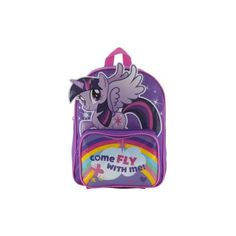 My Little Pony Rucksack (35 PEN) ❤ liked on Polyvore featuring bags, backpacks, my little pony backpack, backpack bags, my little pony, my little pony bag and purple backpack