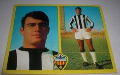 CROMOS DE FUTBOL CORRALES C.D. CASTELLON(SIN PEGAR)LIGA ESTE 1972-1973/72 73