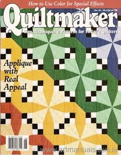 Quiltmaker Magazines - This is a paid service