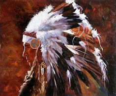 abstract native american paintings and art | American Southwest Oil Painting #SCB096:Abstract Native American