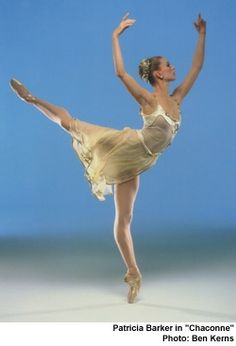 Patricia Barker of the Pacific NW Ballet.  She was a neighbor of my uncle.