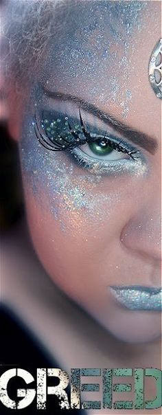 Inspirierende Fee Make-up-Idee. - Makeup İdeas For Homecoming Makeup Inspo, Makeup Art, Makeup Inspiration, Eye Makeup, Snow Makeup, Body Makeup, Makeup Ideas, Style Inspiration, Ice Queen Makeup