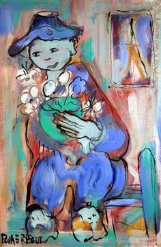 Acrlic Man with flowers South African Artists, Love Art, Mixed Media Art, Dream Big, Artsy Fartsy, Art History, Art Pieces, Illustration Art, Arts And Crafts