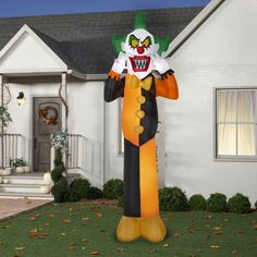 HALLOWEEN INFLATABLE GIANT YARD PROP DECORATION 2003 EUC GEMMY HOMER SIMPSON New #AirblownInflatable