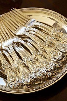Sterling silver forks
