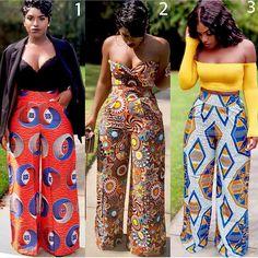 african fashion women ghana African Print fashion trousers for women African Fashion Ankara, African Fashion Designers, Latest African Fashion Dresses, African Inspired Fashion, African Print Dresses, African Print Fashion, Africa Fashion, African Dress, Fashion Prints