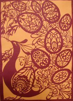 Odessa Museum of Western and Eastern Art - Одесский музей западного и восточного искусства Paper Art, Paper Crafts, Mosaic Madness, Folklore, Pet Birds, Tribal Tattoos, Paper Cutting, Mandala, Tapestry