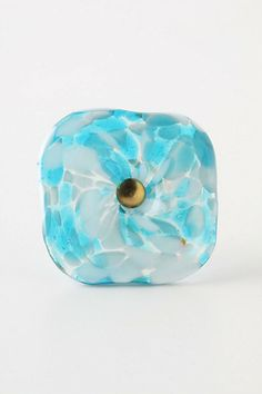 @Heather Fitzgerald What do you think of this after we paint your dresser white..??   Molten Spectrum Knob, Aqua Swirls - Anthropologie.com