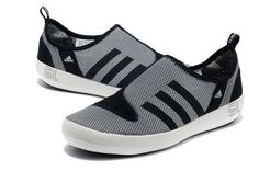 Latest-Adidas-Boat-SL-summer-breathable-wading-shoes-for-men-gray-black