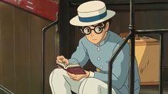 Hayao Miyazaki, Art Studio Ghibli, Manga Anime, Anime Art, Le Vent Se Leve, Wind Rises, Se Lever, Baby Frame, Ghibli Movies
