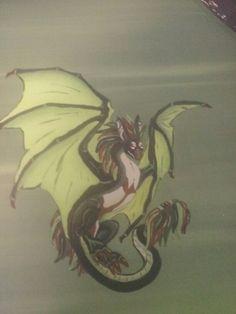 Green Baby Dragon