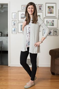 Serafina Lace Detail Cardigan from Le Lis - October Stitch Fix Review  http://www.kqzyfj.com/click-7679127-11813643 #affiliate