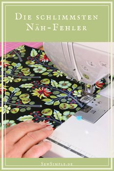 ᐅ Die 36 schlimmsten Nähfehler (und wie du sie vermeidest) So you avoid the worst sewing mistakes. So that your hobby makes even more fun and even less stress. So sewing works great from the beginning! Easy Sewing Projects, Sewing Projects For Beginners, Sewing Hacks, Sewing Tutorials, Sewing Tips, Hobbies To Try, Hobbies For Men, Sewing Patterns Free, Free Sewing