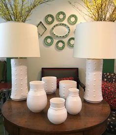"113 Likes, 3 Comments - KRB (@krbnyc) on Instagram: ""Just in: matte white Nicholas Newcomb Pottery vases, cache pots, and lamps. Email us at…"""