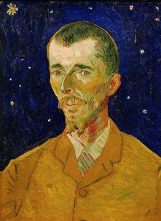 Van Gogh, Portrait of Eugène Boch, September 1888. Oil on canvas, 60 x 45 cm. Musée d'Orsay, Paris.