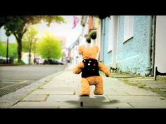 Short animation of Binky Bear which was filmed in Alresford, Hampshire UK.  We used stop-frame animation to achieve a moving background.