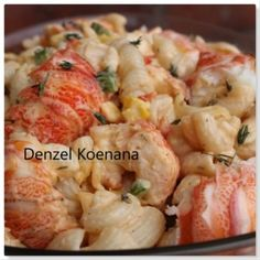 Food Lovers Recipes | DENZY'S CRAYFISH NOODLE SALADDENZY'S CRAYFISH NOODLE SALAD - Food Lovers Recipes Crayfish Salad, Crayfish Tails, Stuffed Green Peppers, Red Peppers, Noodle Salad, Salad Recipes, Noodles, Macaroni And Cheese, Lovers