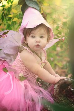 Flower Fairy couture costume (infant toddler) - Honeysuckle