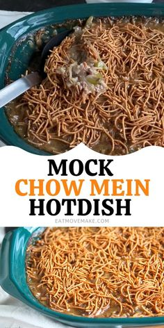 Chow Main Recipe, Chow Mein Casserole Recipe, Chow Mein Noodle Recipe, Chicken Chow Mein Recipe Easy, Ground Beef In Crockpot, Ground Beef Casserole, Chinese Casserole Recipe