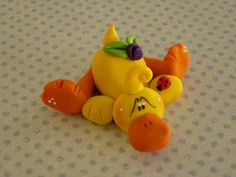Sprawled Out Resting Duck by ClayBabiesInc on Etsy, $8.95