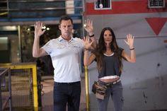 "Jeffrey Donovan as Michael Westen and Gabrielle Anwar as Fiona Glenanne on USA Network's ""Burn Notice."""