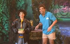 Nasim Pedrad appeared alongside Drake on January 18, in a skit called Disney World Show wearing our Antique Lamb A-2 Jacket. In the skit, our jacket is used to make Nasim Pedrad's character look like Indiana Jones; we think she pulled it off.