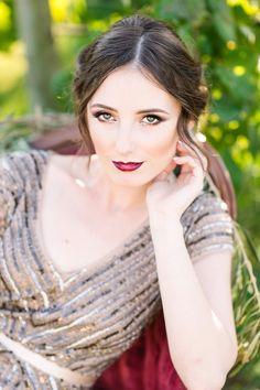 #bold and #beautiful #bridal #makeup @weddingchicks