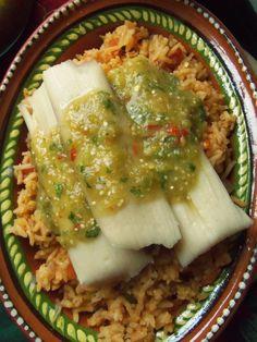 Tamales de Frijol con Jalapeño(Bean and Jalapeño Tamal)