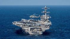 El portaaviones nuclear de Estados Unidos avanza hacia Corea del Norte