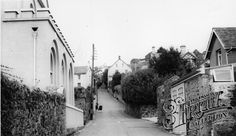 Photo of Bovey Tracey, Hind Street Devon, Old Photos, England, Street, Old Pictures, Vintage Photos, English, British, Walkway