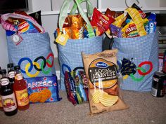 365 DAYS OF PINTEREST CREATIONS: olympic survival kits