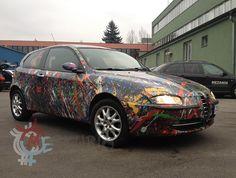 Alfa Romeo in Storm decoration - Merkurio cars design by Petr Jáchym www.petrjachym.cz