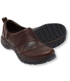 Women's Comfort Mocs, Leather