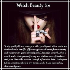 Witch beauty