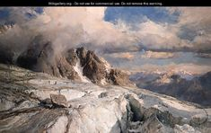 Saleinaz Glacier - Edward Theodore Compton
