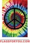Peace Sign  Garden Flag