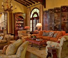 Great Room ~ Interior Designer Suzanne Tucker