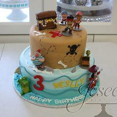 Jake and the Neverland Pirates theme cake - Yelp