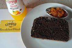 Pão de alfarroba com sementes de girassol