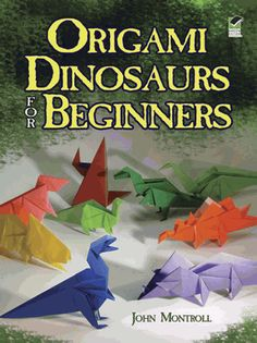 Twenty dinosaur models by a paperfolding master range from very easy to low-intermediate levels. Famous and lesser-known prehistoric creatures include tyrannosaurus, apatosaurus, pterodactylus, dimetrodon, quetzalcoatlus, and protoceratops. Includes diagrams and easy instructions.