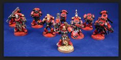 Good example of a Red Corsair squad.