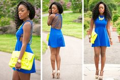 fashion in blue
