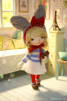Cram (Enyo doll ♥) by Keera, via Flickr