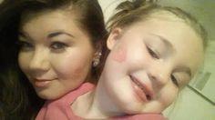 Amber & her daughter Leah teen mom