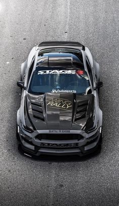 Cool Sports Cars, Sport Cars, Cool Cars, New Ford Mustang, Mustang Cars, Mustang Gt500, Custom Muscle Cars, Custom Cars, Car Ford